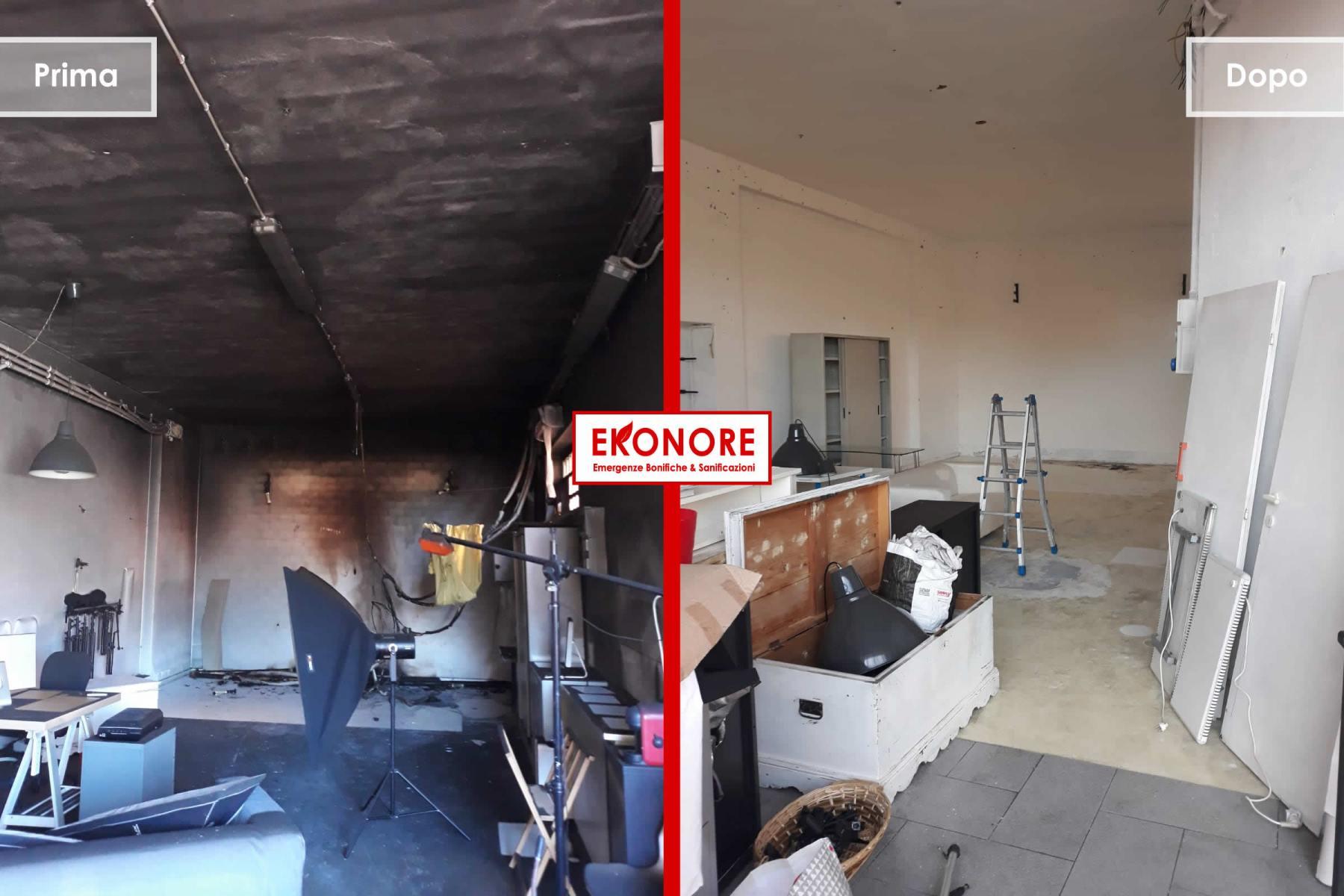 bonifica post incendio pulizia e smaltimento